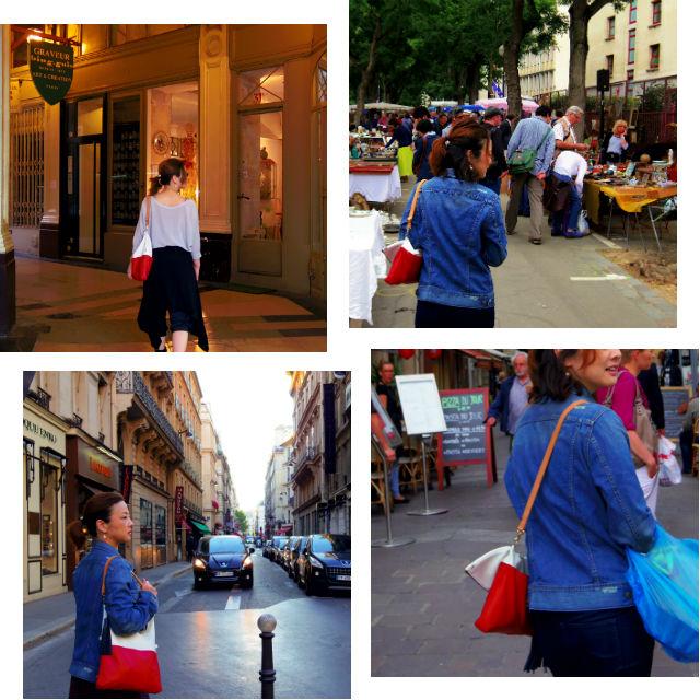 3wayネコショルダーin Paris