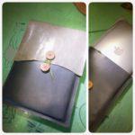 封筒っぽいMacBook Airケースを作ってみました