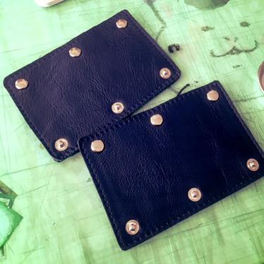 持ち手カバー、TUMIなどの太めの持ち手バッグには留め具3つバージョンをどうぞ